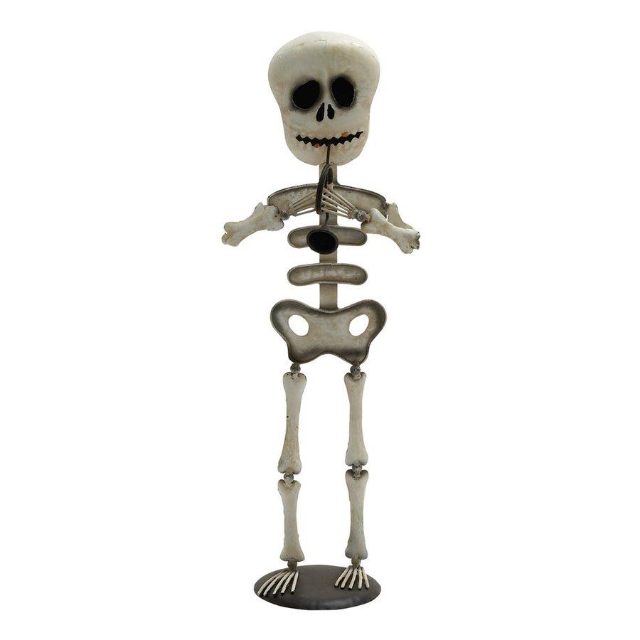Woodland Imports Metal Freestanding Skeleton Sculpture