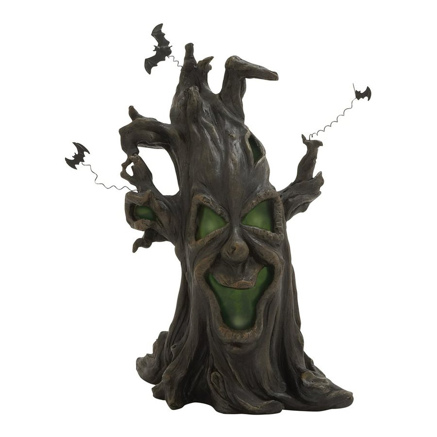 Woodland Imports Pre-Lit Tree Sculpture White LED Lights