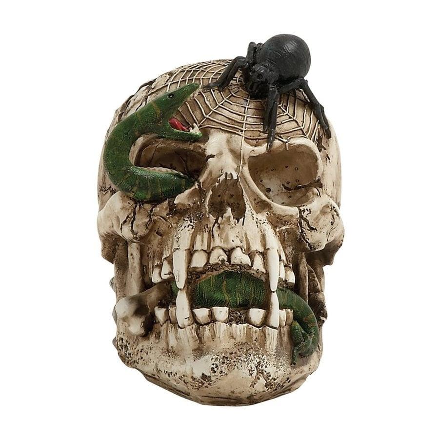 Woodland Imports Resin Tabletop Skull Sculpture