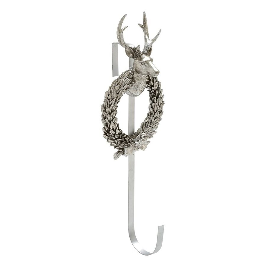 Woodland Imports Deer Head Decorative Resin Composite Wreath Hanger