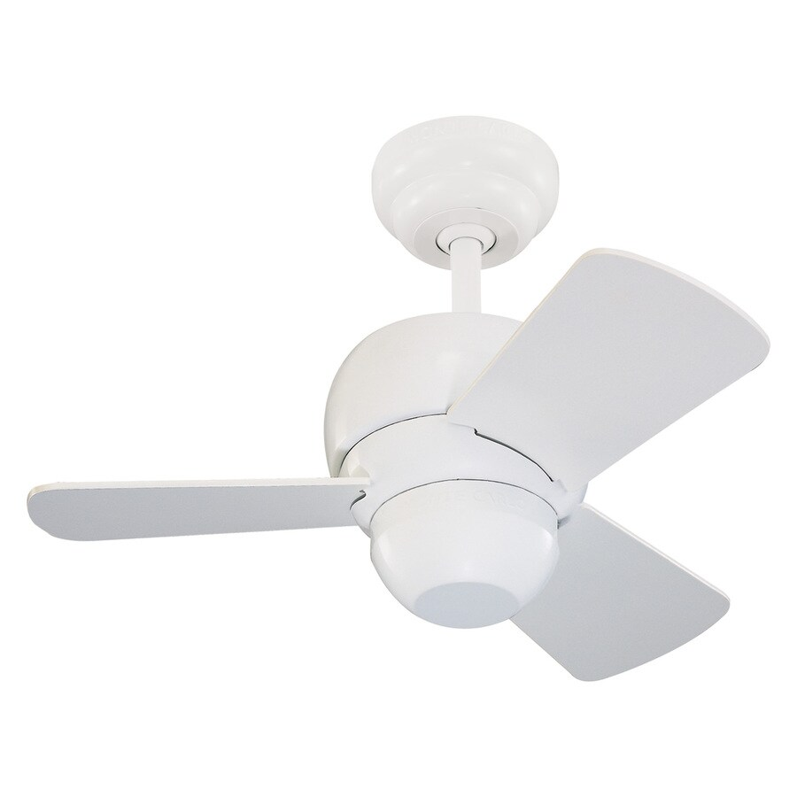 Monte Carlo Fan Company Micro 24 In White Indoor Ceiling 3