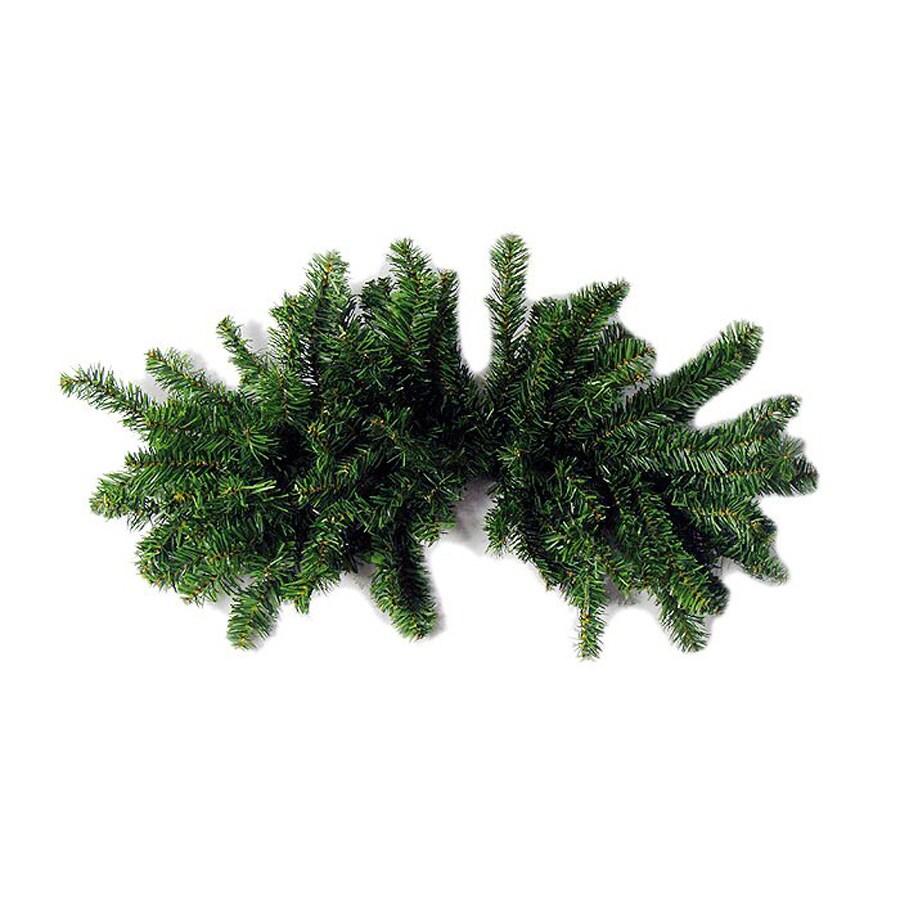 Northlight 32-in x 2.6-ft Indoor/Outdoor Canadian Pine Artificial Christmas Garland