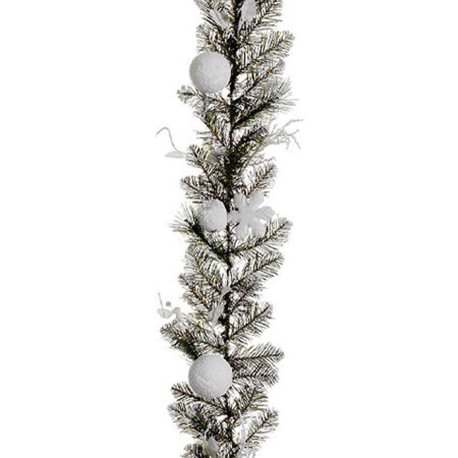 Northlight Allstate 6-ft L Snowy Pine Garland