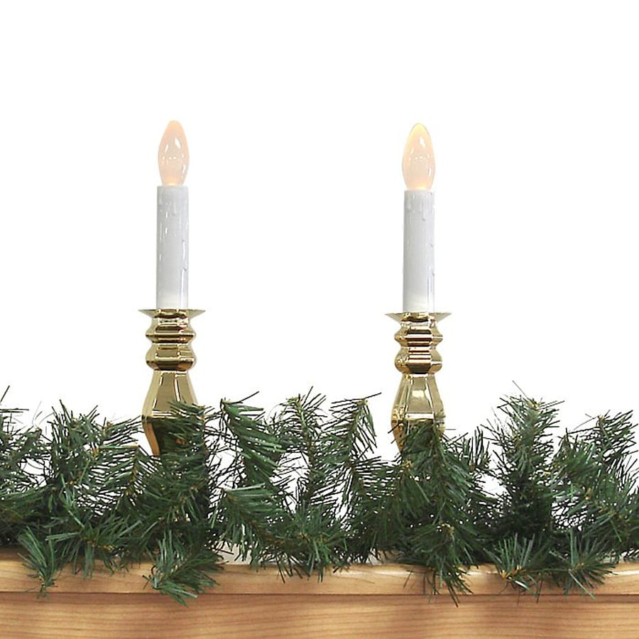 Northlight 12-in x 9-ft Indoor/Outdoor Windsor Pine Artificial Christmas Garland