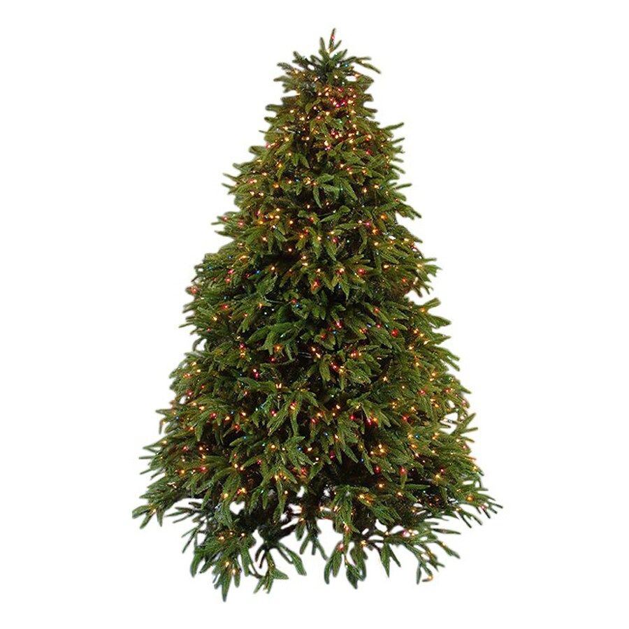 Northlight Equinox 6.5-ft 4935-Count Pre-lit Artificial Christmas Tree 1000 Multicolor Incandescent Lights