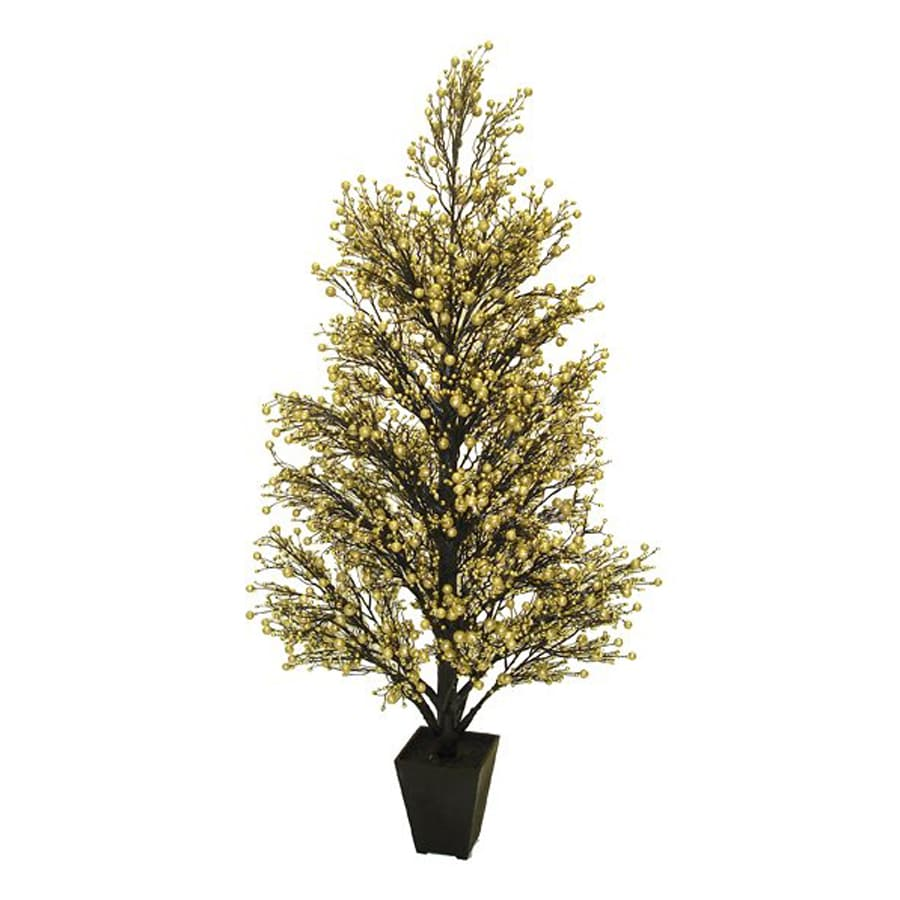 Northlight Allstate Floral And Craft 3.6-ft Slim Artificial Christmas Tree