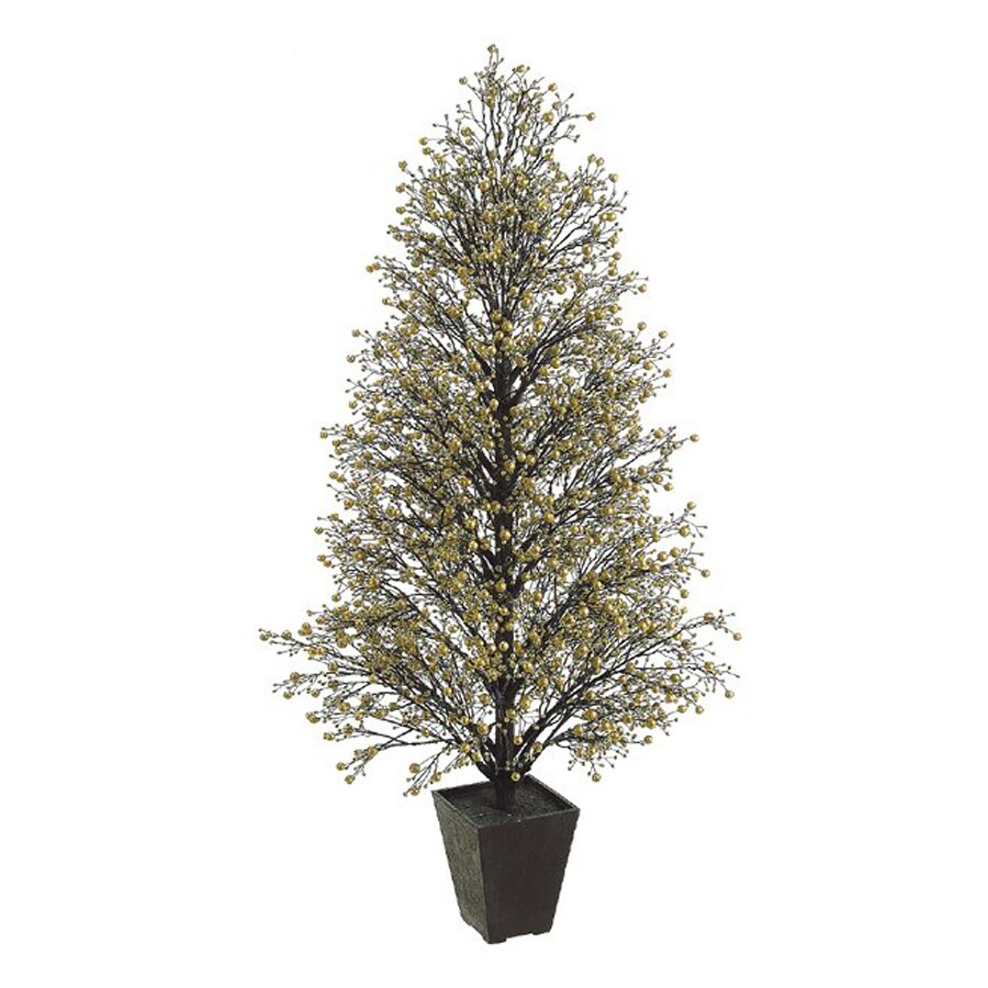 Northlight Allstate Floral And Craft 4.25-ft Slim Artificial Christmas Tree