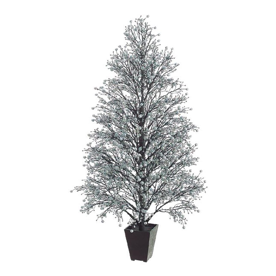 Real Christmas Trees Lowes: Northlight 4.25-ft Whimsical Slim Artificial Christmas