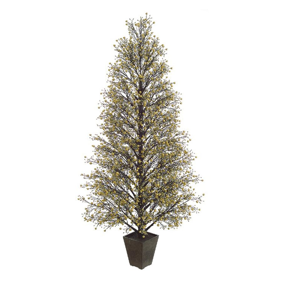 Northlight Allstate Floral And Craft 5.3-ft Slim Artificial Christmas Tree