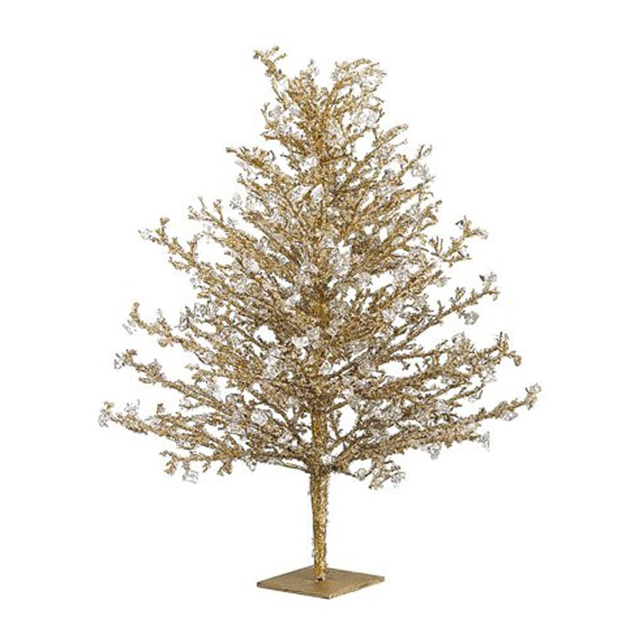 Best 28 gold tabletop christmas trees gold metallic for Allstate floral and craft