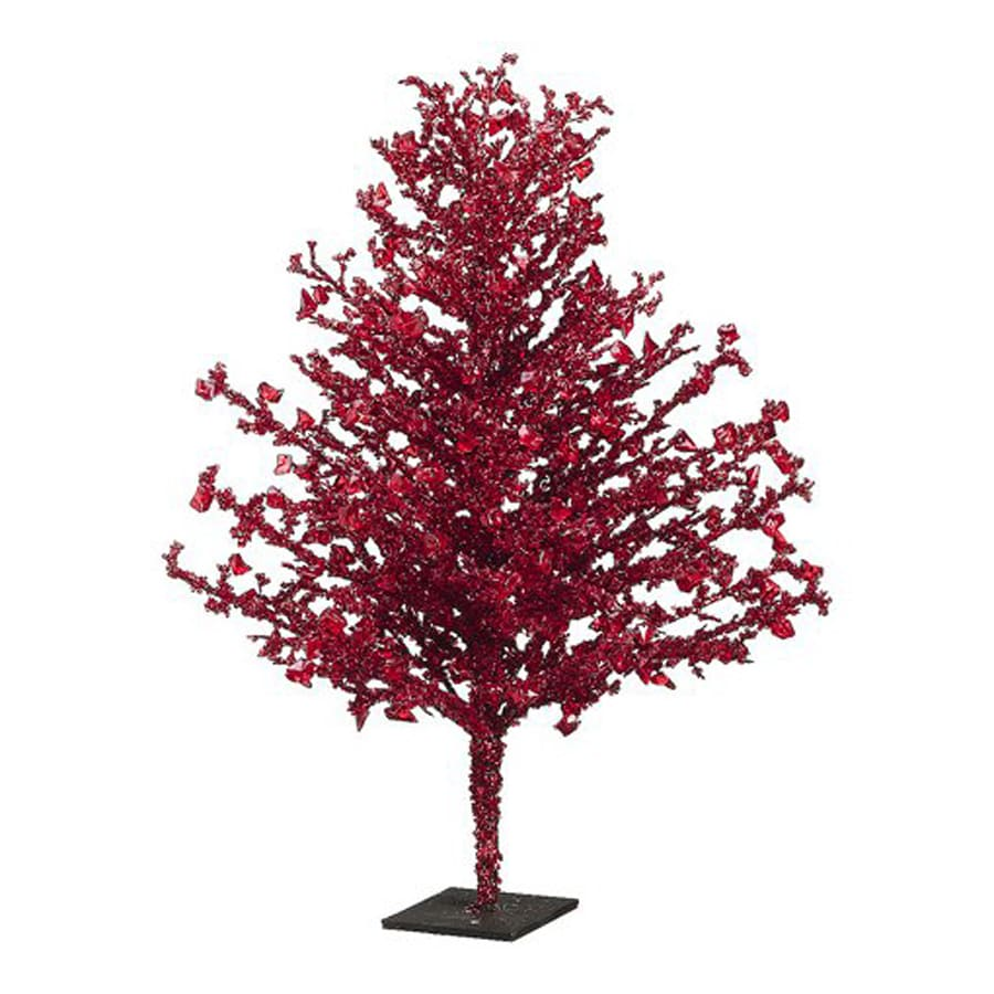 Northlight Allstate Floral and Craft 2-ft Tabletop Unlit Twig Red Artificial Christmas Tree