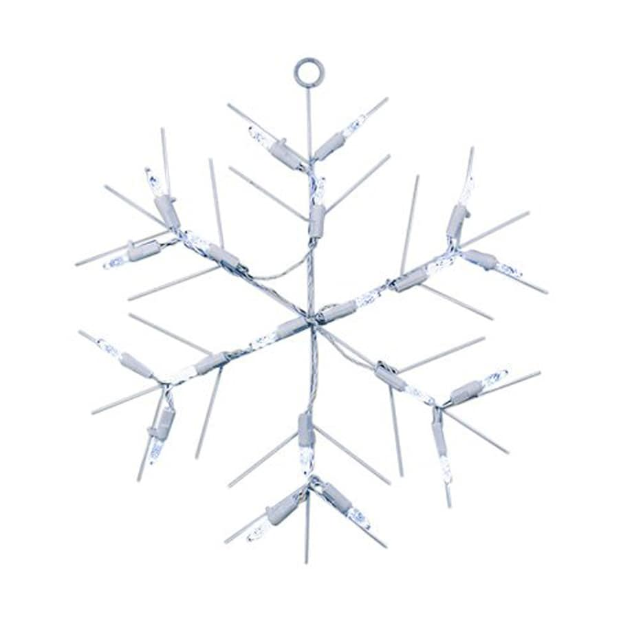 Northlight Sienna Pre-Lit Snowflake Window Cling Lights