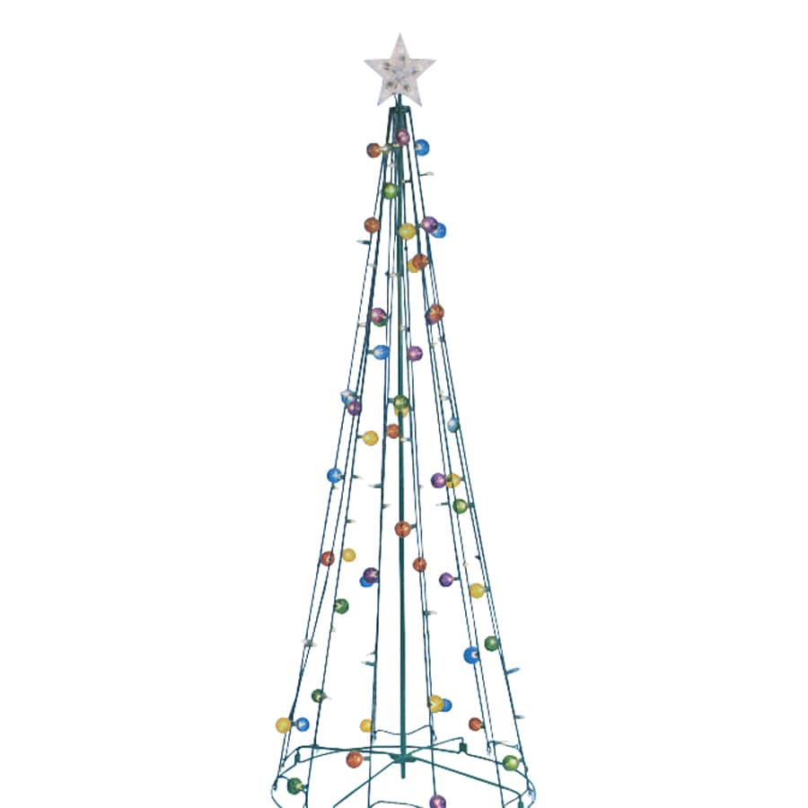 Northlight Sienna Lighted Freestanding Tree Outdoor Christmas Decoration with White Incandescent Lights