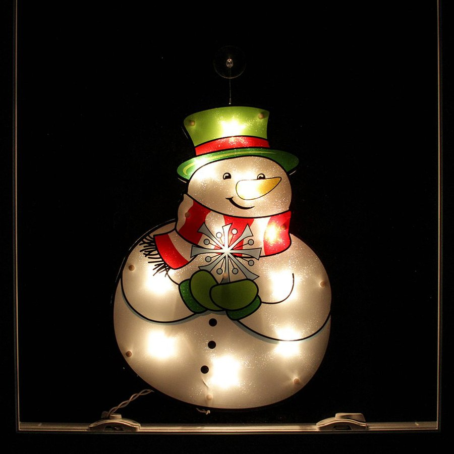 Northlight Impact 1.38-ft Snowman White Incandescent Lights