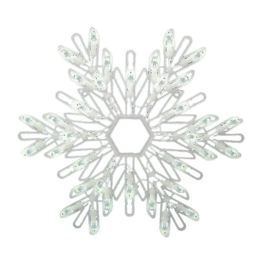 Northlight Sienna 1.17-ft Snowflake White LED Lights