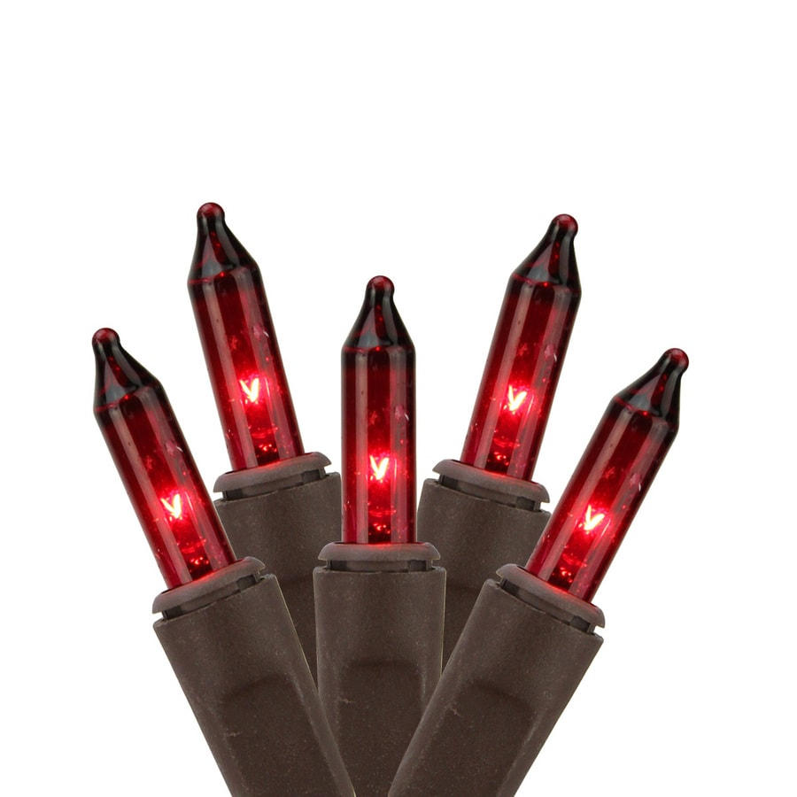 Northlight Sienna 2-Ft x 8-Ft Indoor/Outdoor Multi-Function Red Incandescent Mini Plug-In Christmas Net Light