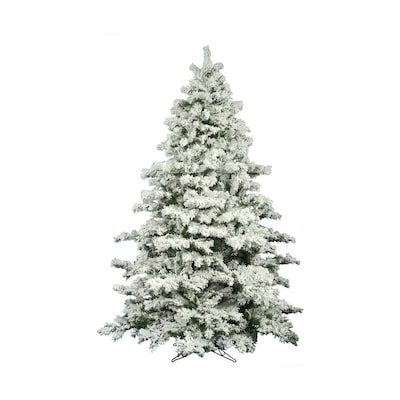 Vickerman 9 Ft Alaskan Pine Flocked Artificial Christmas