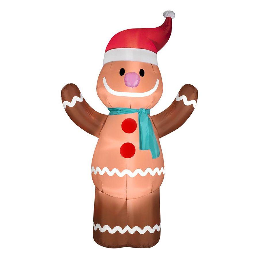 Shop gemmy ft internal light gingerbread man christmas