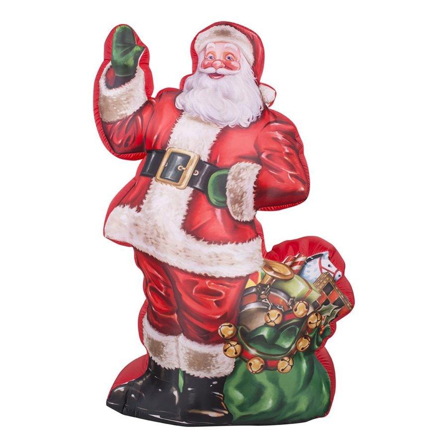 Shop gemmy ft internal light santa christmas