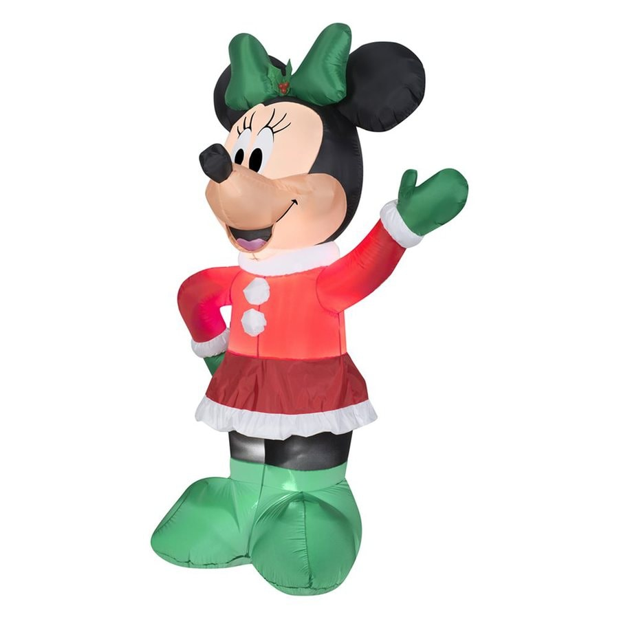 gemmy 551 ft x 328 ft lighted minnie mouse christmas inflatable