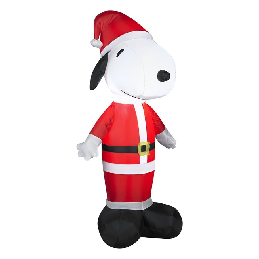 gemmy 351 ft internal light snoopy christmas inflatable - Lowes Inflatable Christmas Decorations
