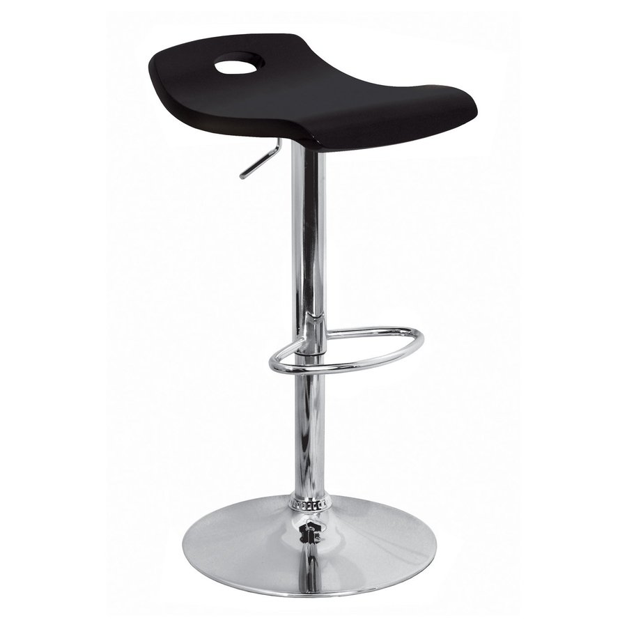Lumisource Black 32-in Adjustable Stool