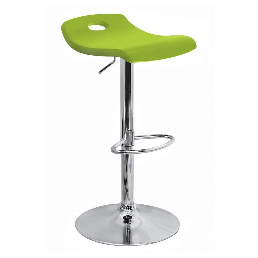 Lumisource Green Adjustable Stool