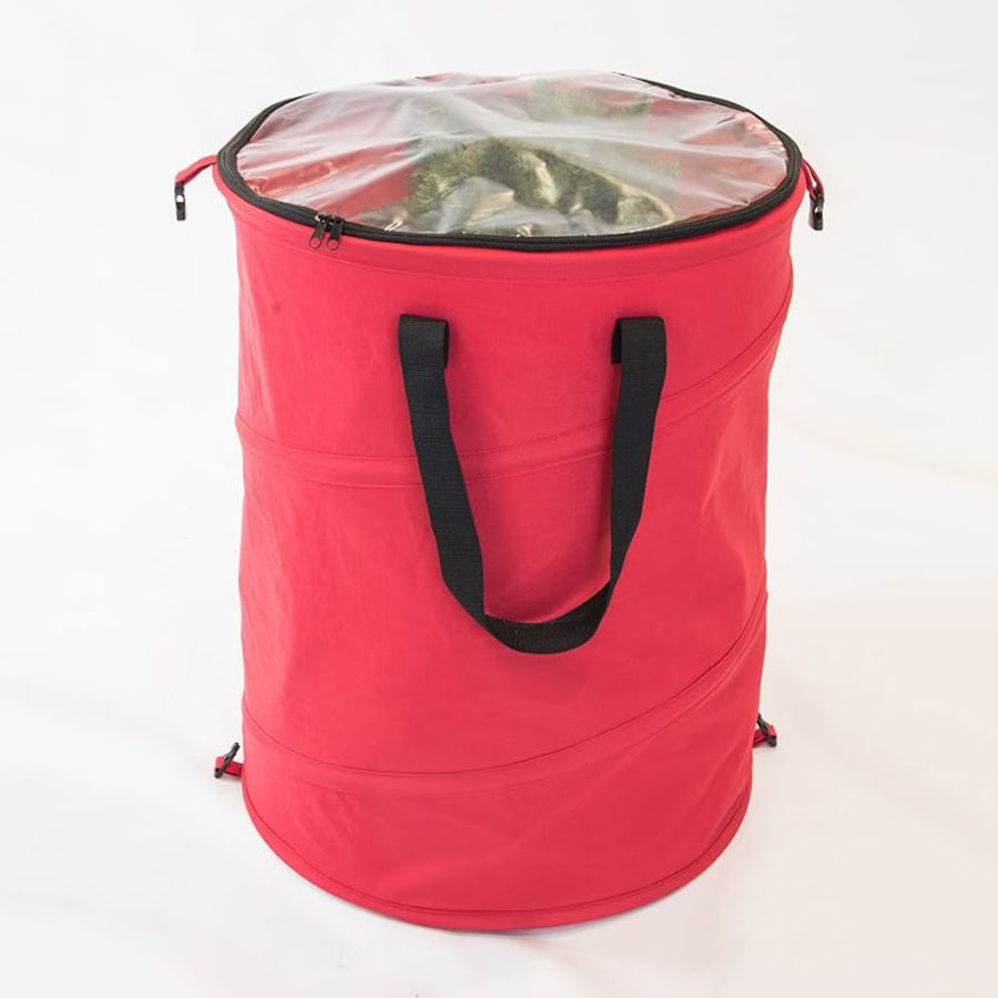 TreeKeeper 19-in W x 25-in H Red Polyester Storage Bag