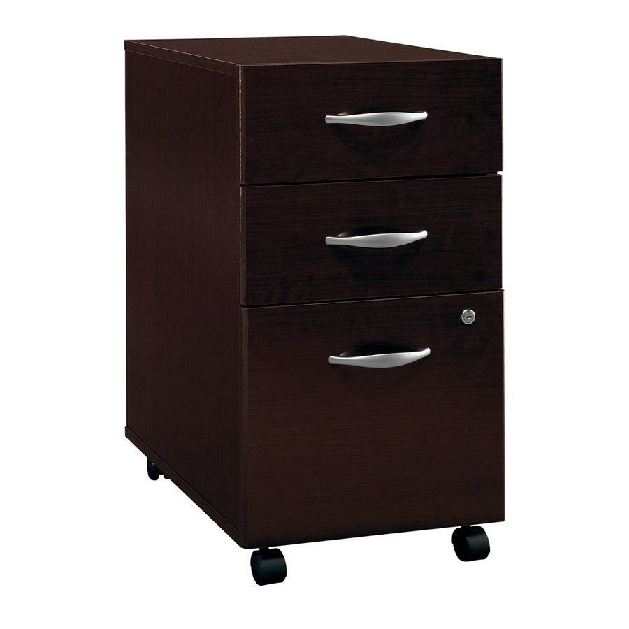 Business Furniture Shop: Shop Bush Business Furniture Mocha Cherry 3-Drawer File