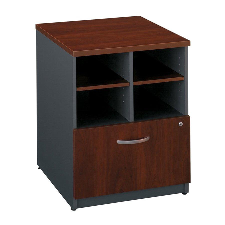 Bush Business Furniture Hansen Cherry/Graphite Gray 1-Drawer File Cabinet