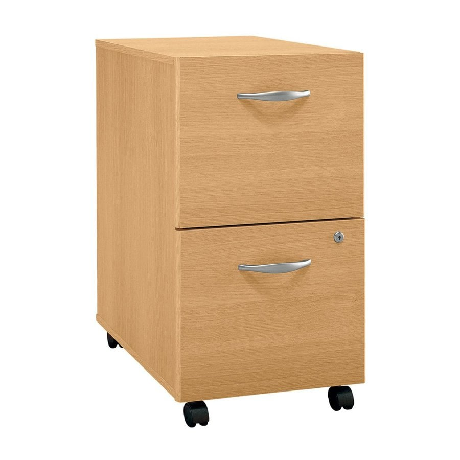 Shop Bush Business Furniture Light Oak 2 Drawer File Cabinet At