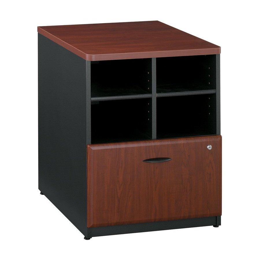 Bush Business Furniture Hansen Cherry/Galaxy 1-Drawer File Cabinet