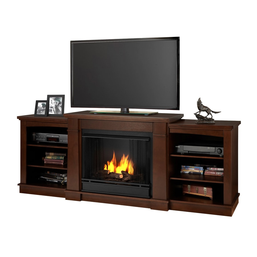 Real Flame 74.875-in Gel Fuel Fireplace