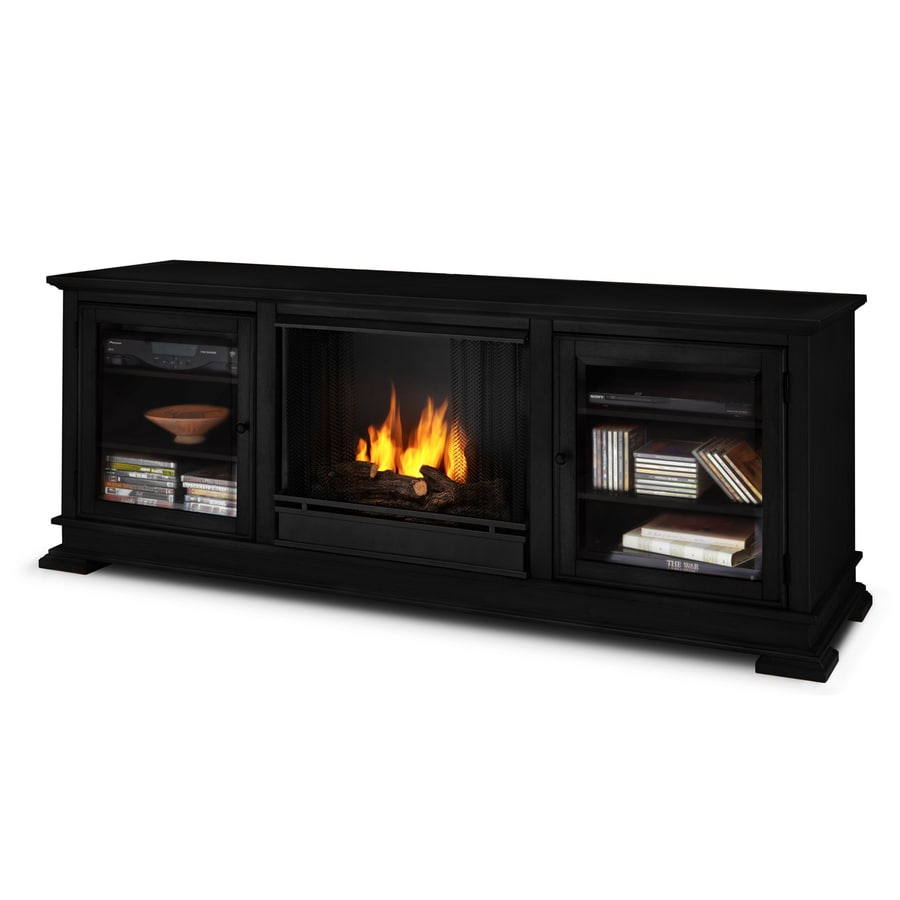 Lowes Fireplace Screens: Shop Real Flame 67.75-in Gel Fuel Fireplace At Lowes.com