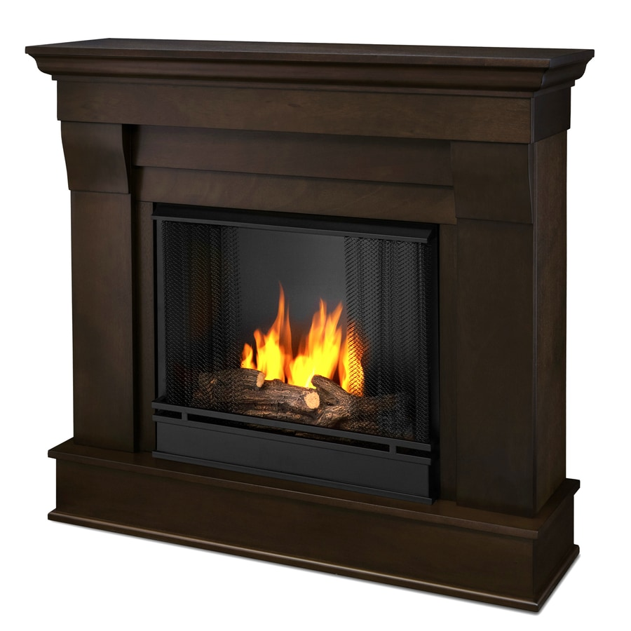 Real Flame 40.9-in Gel Fuel Fireplace