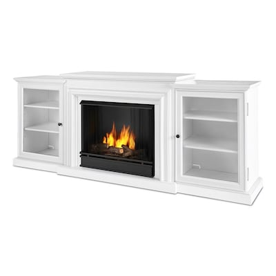 Real Flame 72 In Gel Fuel Fireplace At Lowes Com