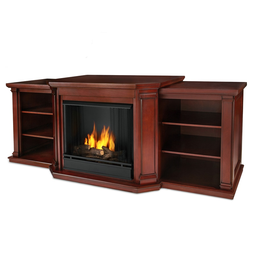Real Flame 75.5-in Gel Fuel Fireplace