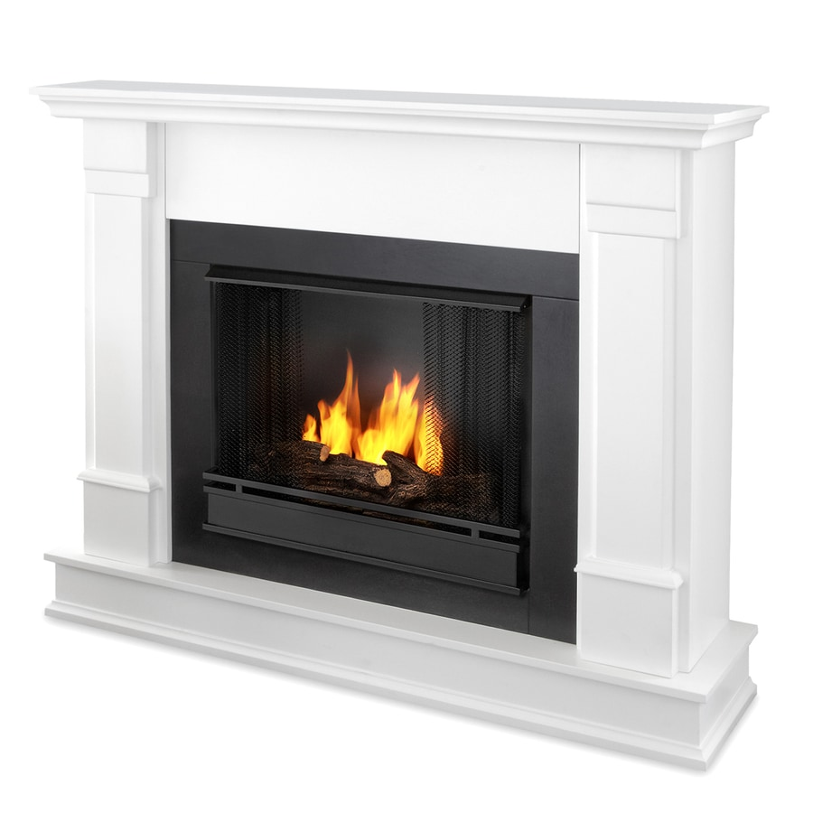 Shop Real Flame 48-in Gel Fuel Fireplace at Lowes.com