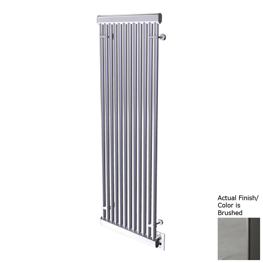 Amba Brushed Stainless Steel Towel Warmer