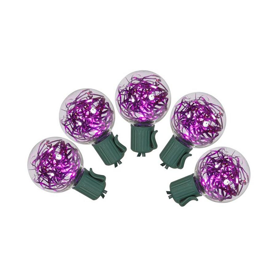 25 count purple g40 led christmas string lights at. Black Bedroom Furniture Sets. Home Design Ideas