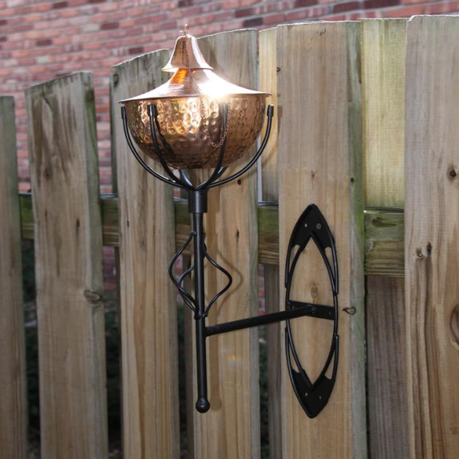 Starlite Garden & Patio Torche Maui Grande 2-Pack 21-in Hammered Copper Citronella Torches