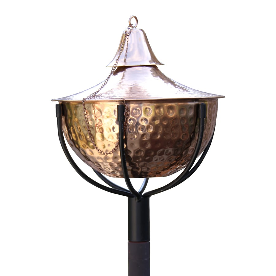 Starlite Garden & Patio Torche Maui Grande 2-Pack 61-in Hammered Copper Stainless Steel Garden Torches