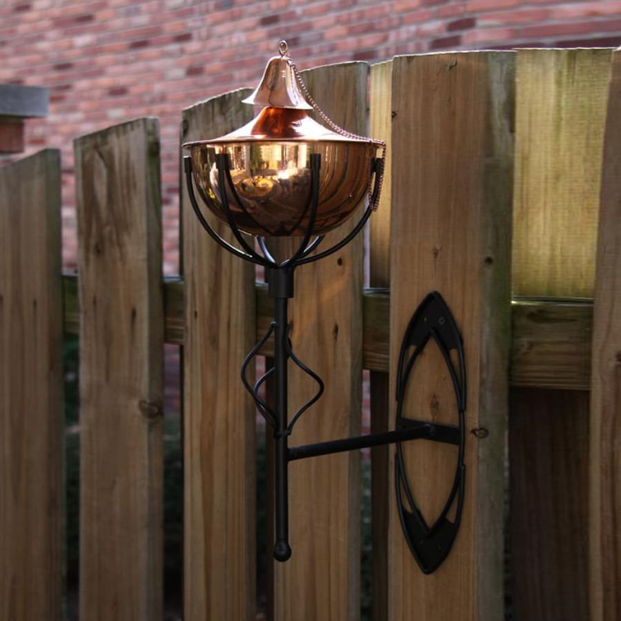 Starlite Garden & Patio Torche Maui Grande 2-Pack 21-in Smooth Copper Citronella Torches