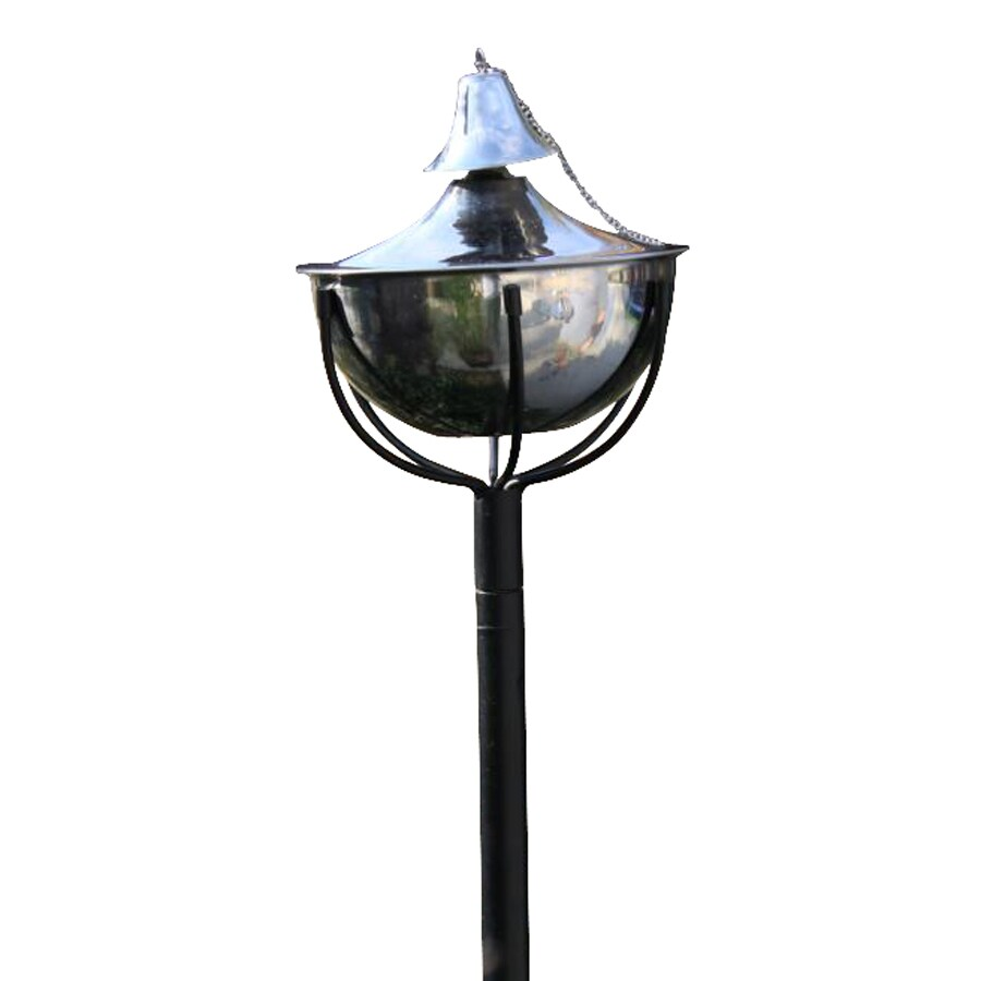 Starlite Garden & Patio Torche Maui Grande 2-Pack 61-in Smooth Nickel Stainless Steel Garden Torches