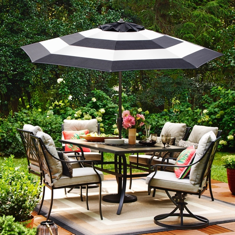 Shop Style Selections Elliot Creek 7 Piece Patio Dining