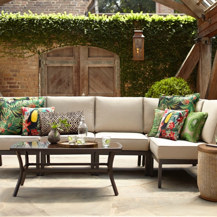 Shop Style Selections Greenway 6-Piece Patio Conversation ...