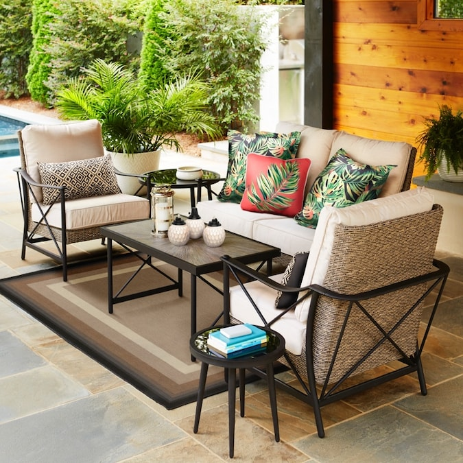 Rothenbee 4 Piece Patio Conversation