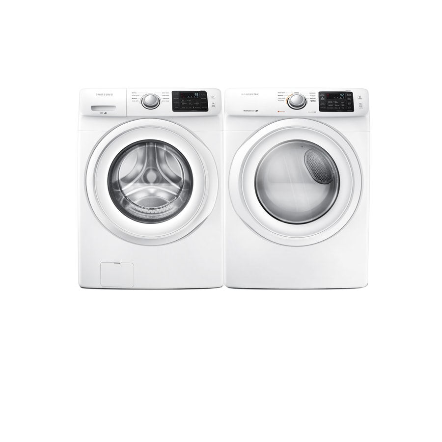 Shop Samsung Front Load Washer Gas Dryer Set At Lowes Com