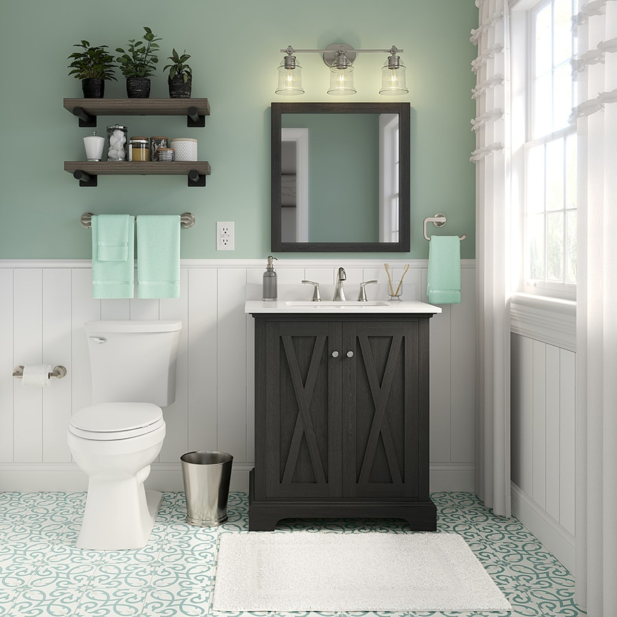 Shop Unbranded Fresh Farmhouse Bathroom At Lowes Com