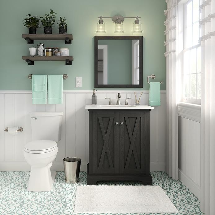 Shop Unbranded Fresh Farmhouse Bathroom At Lowes Com